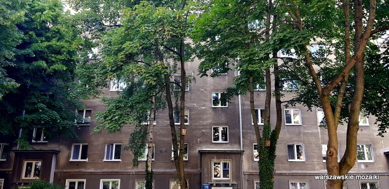 Warszawa Warsaw Stary Mokotów ulica ulice kamienica architektura