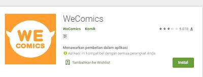 Aplikasi Baca Komik  Berbahasa Indonesia