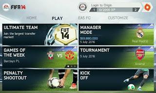 Download Game FIFA 14 Full Unlocked v1.3.6 Apk Data OBB Update Transfer Terbaru 2016