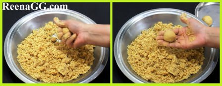 Moong Daal Laddu Recipe step 3
