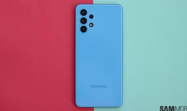 هاتف سامسونج Galaxy M32_5G يحتوي علي بطارية جبارة