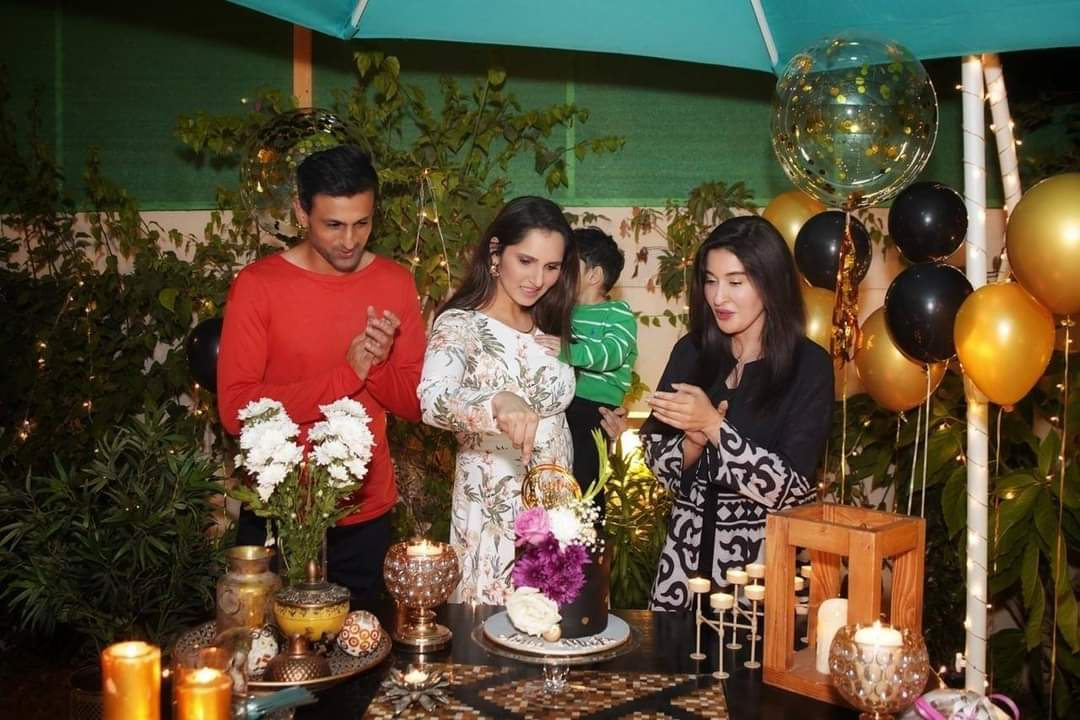 Sania Mirza Birthday Party