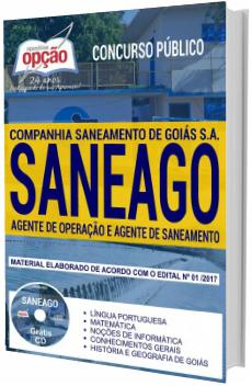 Apostila concurso SANEAGO 2018 Técnico de Saneamento