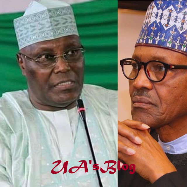 """I'm ready to present my DNA test to appeal and I am challenging Buhari to do same if truly he is a Nigerian"". -Atiku Abubakar."