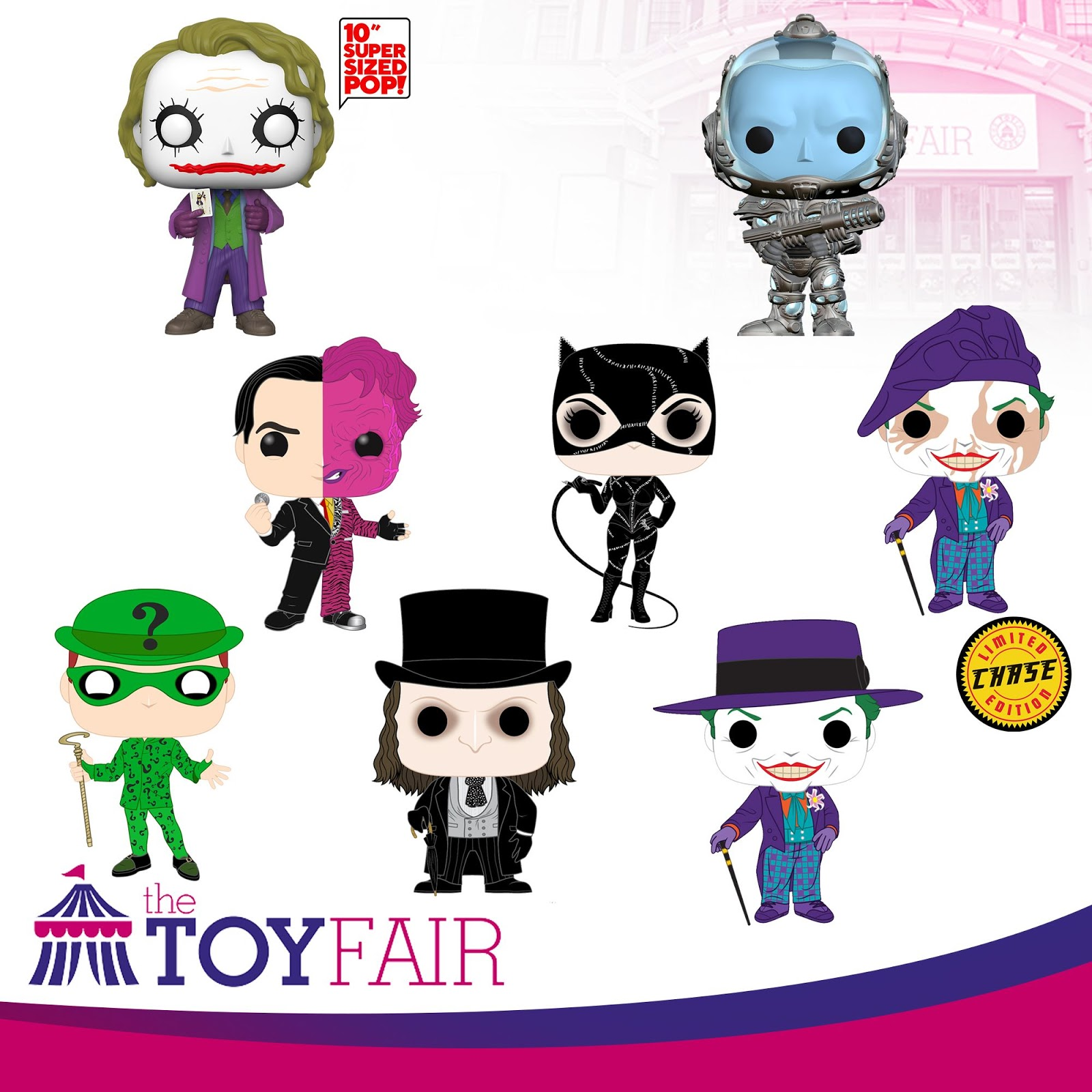 The Blot Says Dc Comics Movie Batman Villains Pop Vinyl Figures By Funko