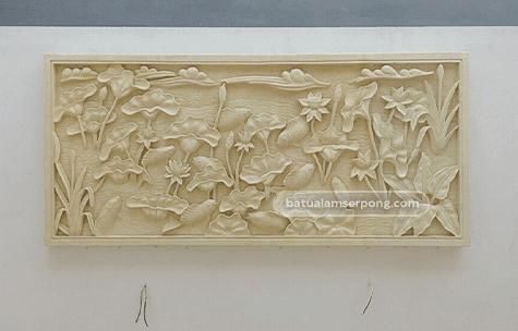 harga relief batu alam