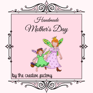 Banner Handmade Mother's Day by The Creative Factory