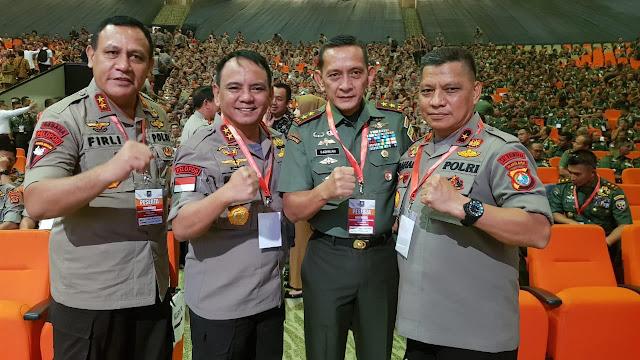 Pangdam I/BB Hadiri Rakornas Indonesia Maju