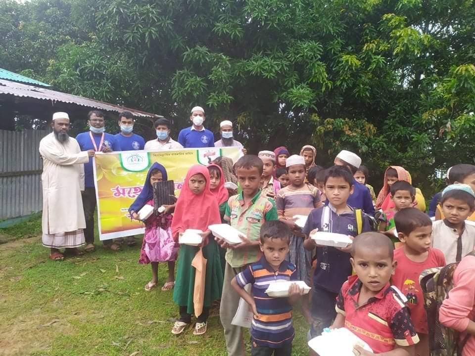 মহেশখালীতে 'ফুড ব্যাংক' সেবা চালু করলো স্বপ্নযাত্রী ফাউন্ডেশন