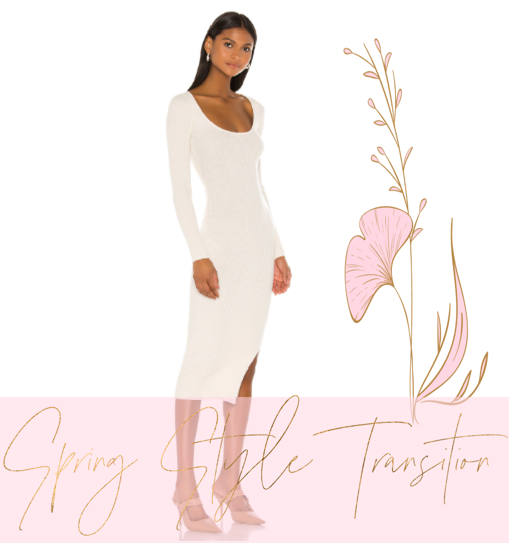 Discover helpful style tips and beautiful fashion for transitioning into the spring season.