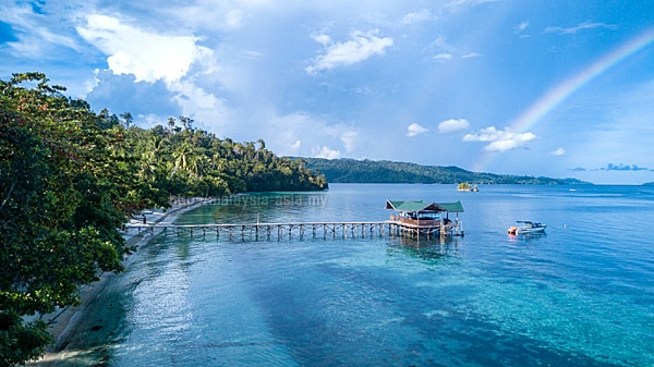 Biodiversity Eco Resort in Raja Ampat