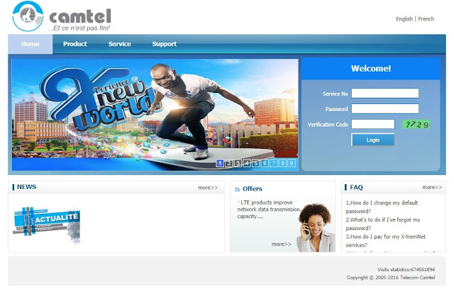 How to Subscribe to Camtel Cameroon Offers1