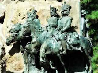 Cavalos Cansados - Monumento La Patria al Ejército de los Andes, Parque General San Martín, Mendoza