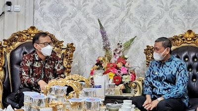 Kepala Badan Narkotika Sulsel ke Rujab Bupati Wajo, Ini Komitmen Pertemuannya
