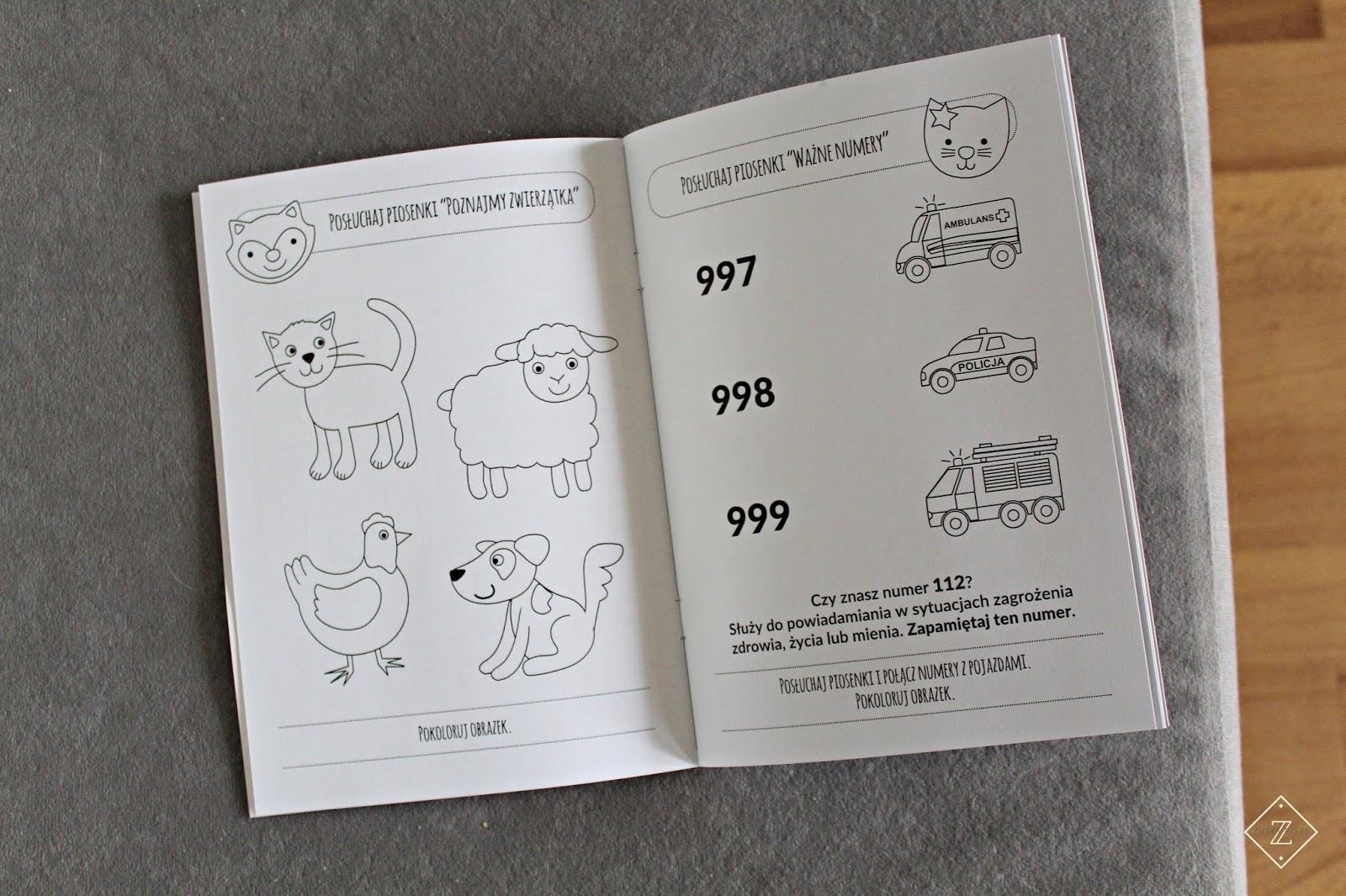 Personalizowane piosenki dla dzieci DZIEWCZYNKI zestaw Płyta CD + książeczka