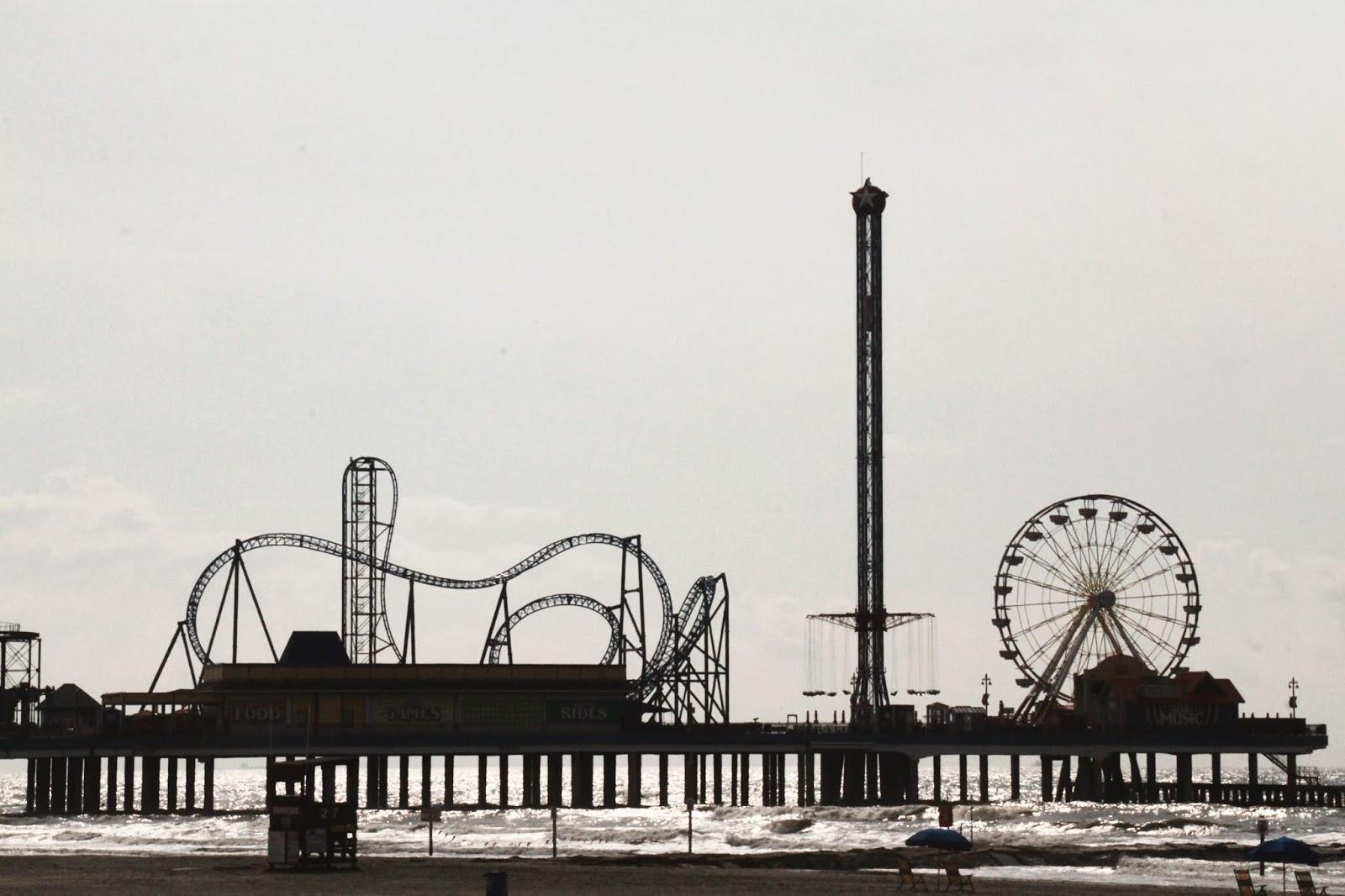 Galveston Island Pleasure Pier today, Pleasure Pier, Things to do in Galveston, family activities in Galveston, visit Galveston