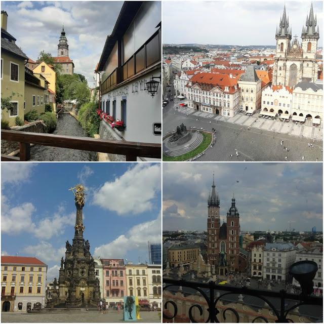 3 meses na Alemanha, República Tcheca e Polônia - Cesky Krumlov, Praga, Cracóvia e Olomouc
