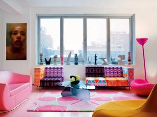 Sala llena de color