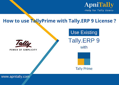 Run Tally Prime License with Existing Tally.ERP 9 License