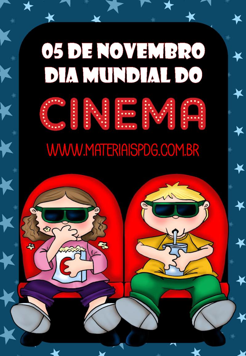 DIA DO CINEMA - ATIVIDADE E FILMES PARA ASSISTIR ONLINE