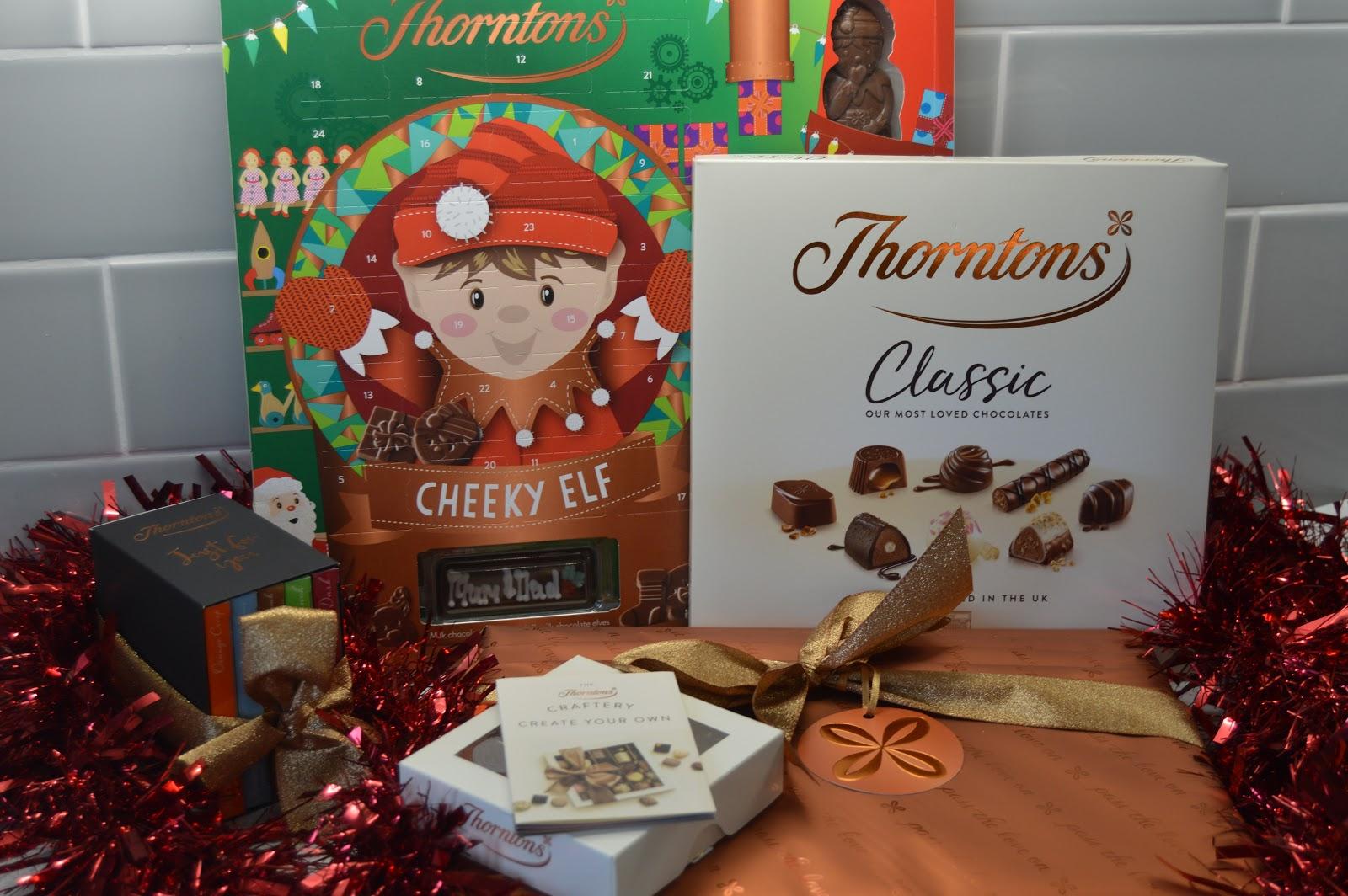Thorntons chocolate range