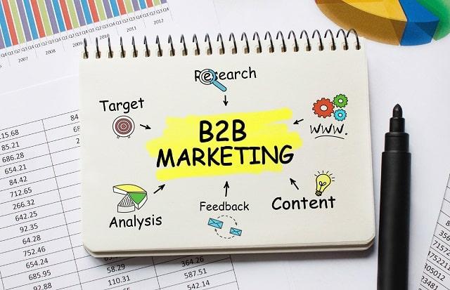 b2b marketing strategies market business to business