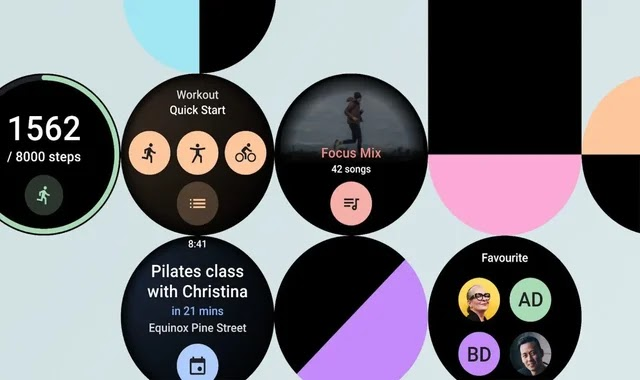 Wear OS watches get custom panels