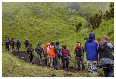 Pembagian Posisi Pendakian
