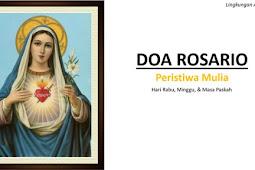 Doa Rosario Lingkungan St. Arcadius 1