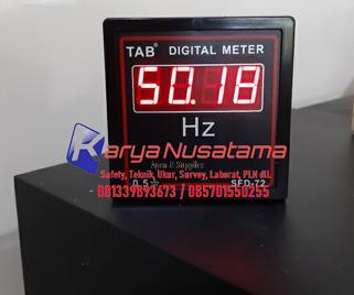 Jual Digital Frequency HZ Meter  30 - 99 Hz di Jember