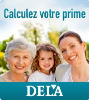 Calcul de la prime DELA
