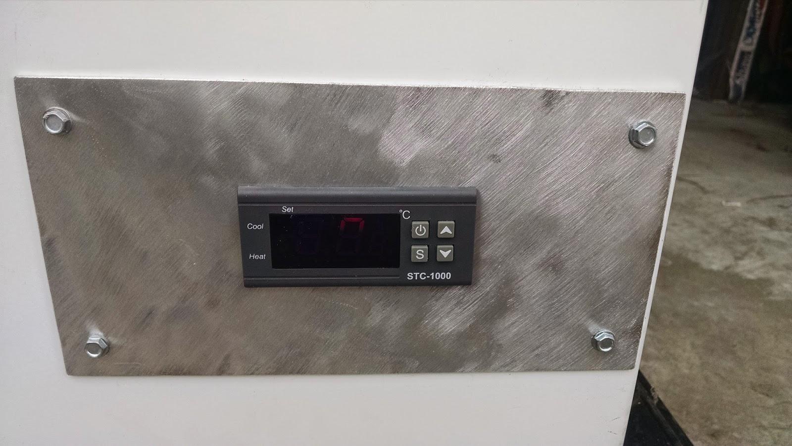Closeup of Temperature Controller