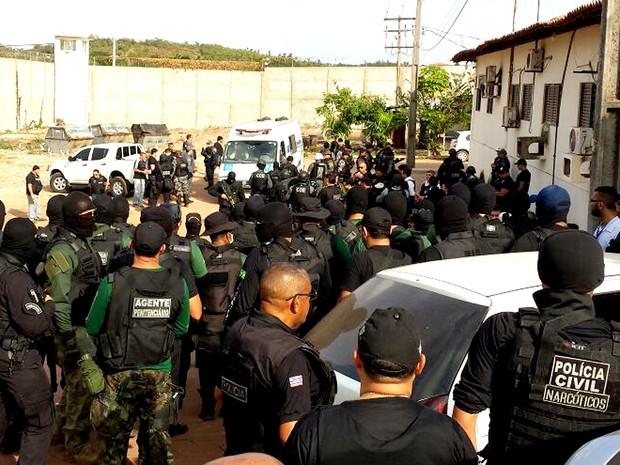 Após ataques, governo faz 'pente fino' no Complexo de Pedrinhas