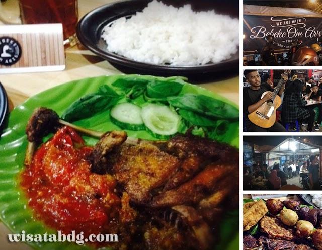 Bebeke Om Aris, Kuliner Favorit Wisatawan di Jalan Dipatiukur Bandung