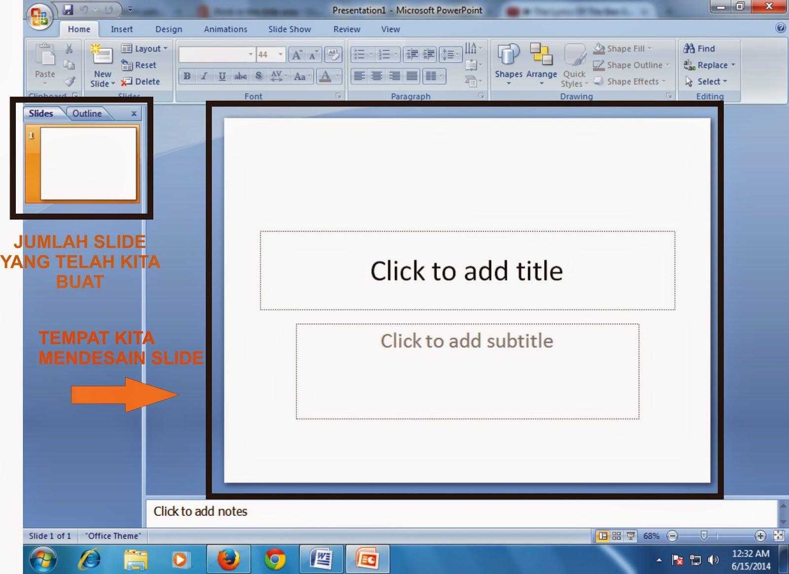 Menambah Dan Menghapus Slide Pada Microsoft Power Point