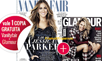 Logo Vanity Fair ti regala Glamour: ritira le copie omaggio