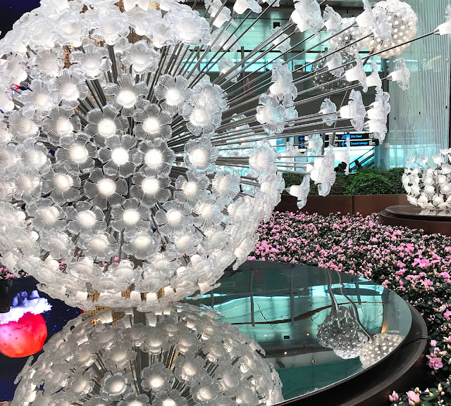Crystal Garden at Changi Airport