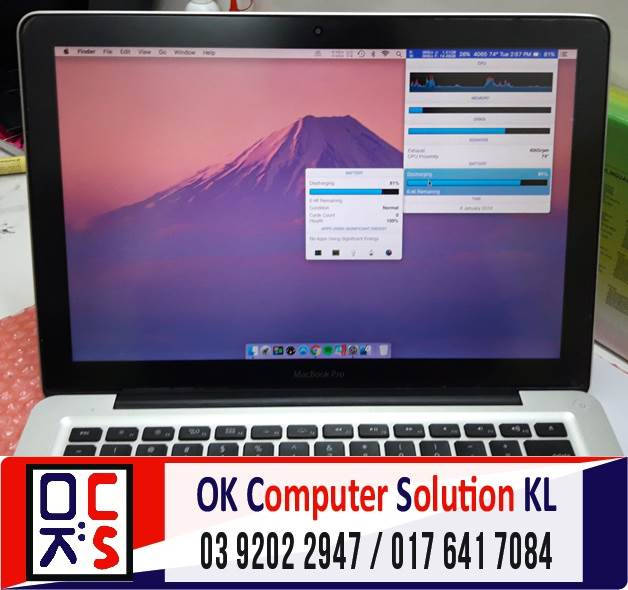 [SOLVED] TUKAR BATERI MACBOOK PRO A1278 | REPAIR LAPTOP CHERAS 5