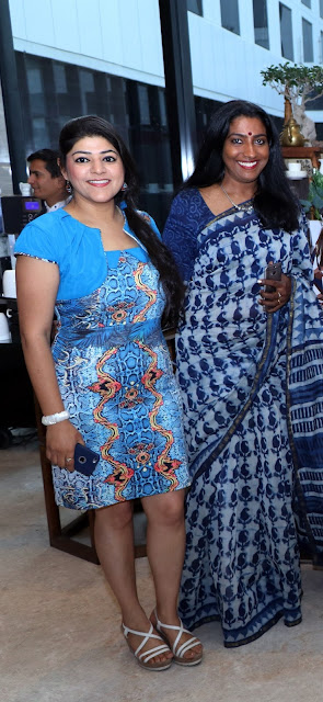 Priya Bali with Bindu Menon-