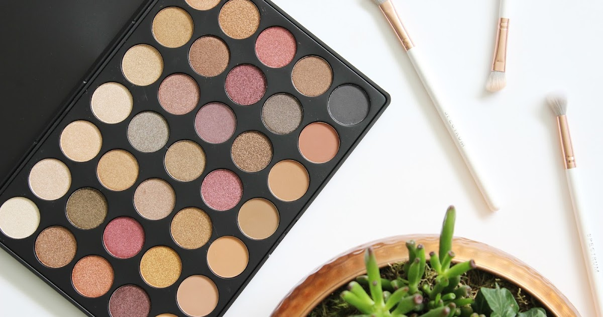 Morphe 35f Fall Into Frost Eyeshadow Palette Review