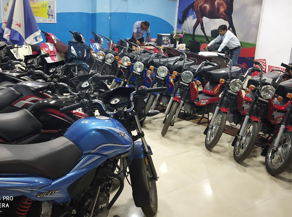 Jai maa TVS Showroom at Kuchinda