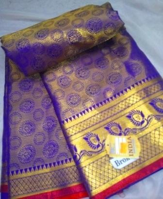 Kanjivaram purple-28