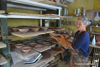 как сушат глиняную посуду