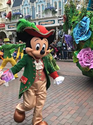 Prince Mickey on Parade