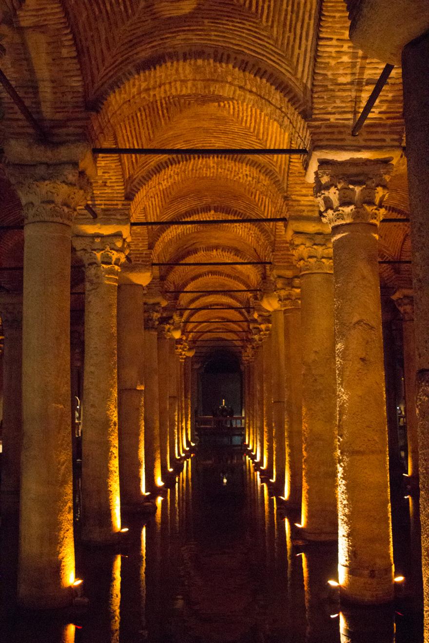 LinnDubh - Istanbul - 8 Tipps für deinen Urlaub in Istanbul - Cisterna Basilica