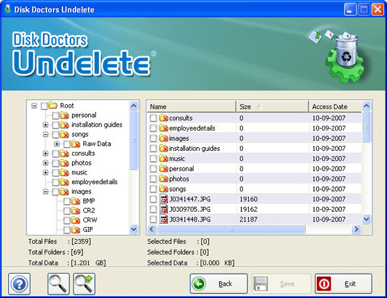 disk doctor undelete free download latest