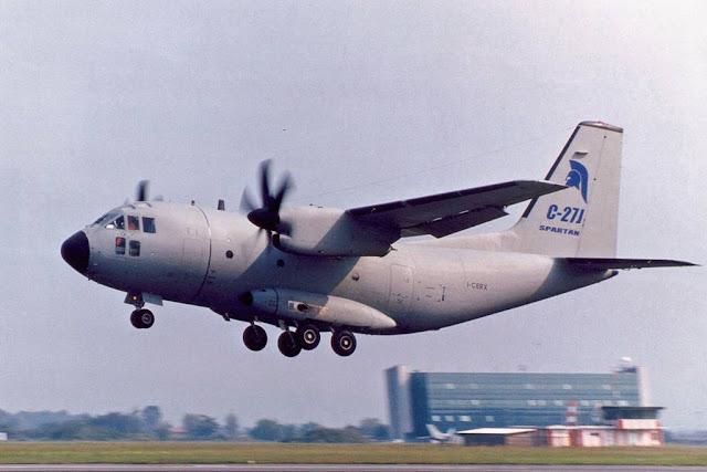 Leonardo C-27J Spartan first flight