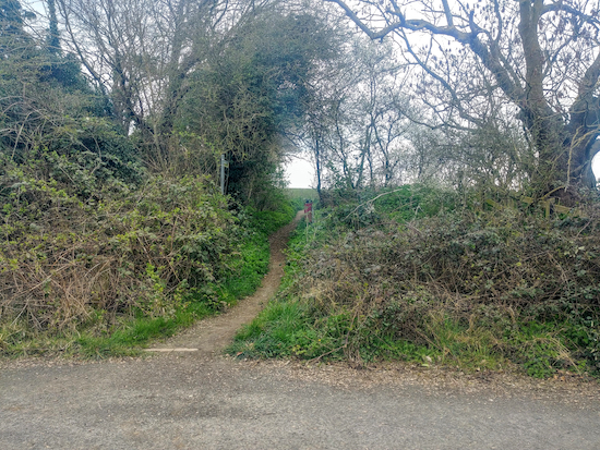 Graveley footpath 6 mentioned in point 5 below