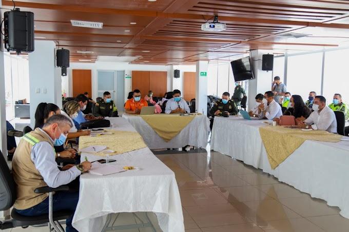 Gobernación del Magdalena continúa con mesas de trabajo para afrontar problemáticas del corredor vial Santa Marta – Palermo