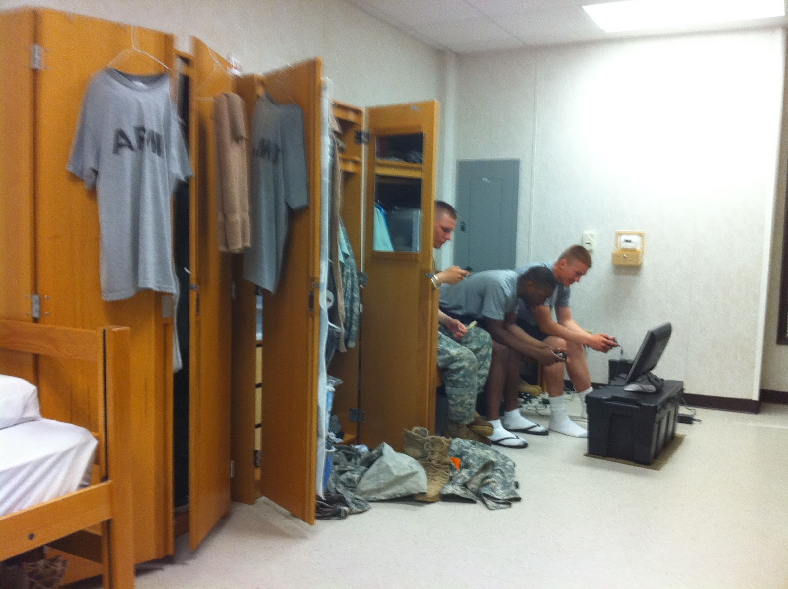 My Army Experience: Test Day (AIT - Fort Gordon) Day 50